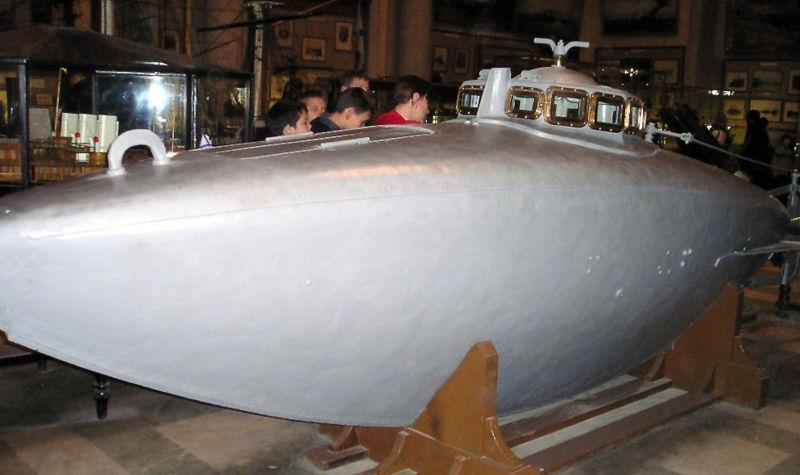 механическая подводная лодка