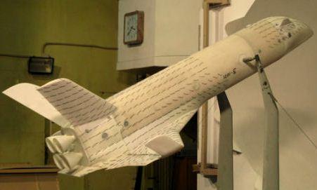 модель многоразовой ракетно-космической системы