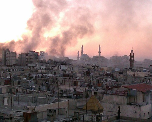 SYRIA-CONFLICT-CLASHES-HOMS