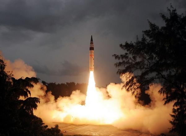 Индия провела очередной запуск ракеты