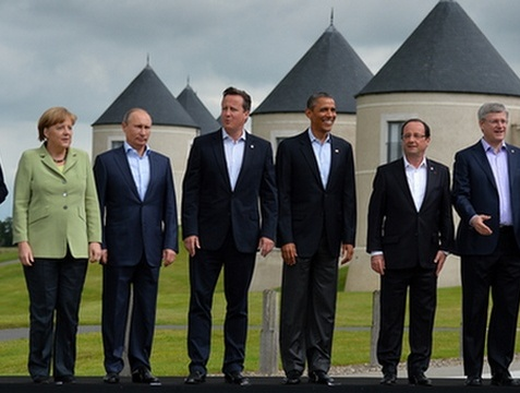 BRITAIN-G8-SUMMIT