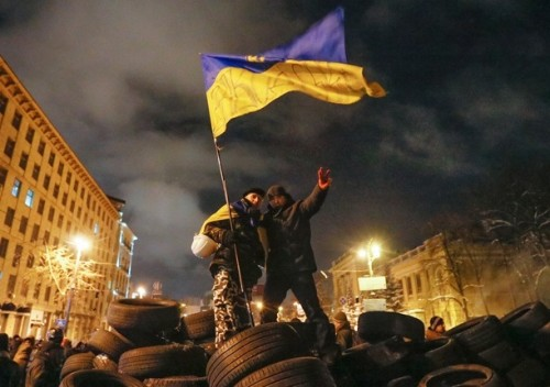 UKRAINE EU PROTEST